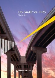 US GAAP vs. IFRS The basics - Financial Executives International