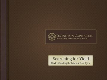 Searching for Yield - Financial Executives International
