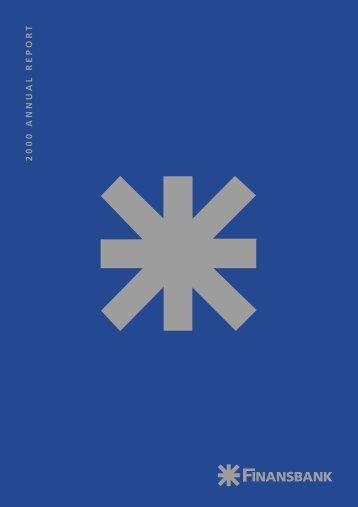 2000 ANNUAL REPOR T - Finansbank