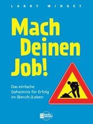 mach deinen job! + + + leseprobe: ma - Financebooks.de