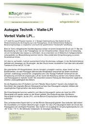 Vialle-Lpi Vorteil Vialle Lpi... - Autogas