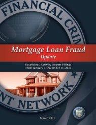 Mortgage Loan Fraud Update - FinCEN