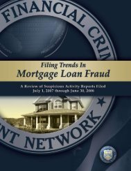 1 Filing Trends in Mortgage Loan Fraud Financial Crimes ... - FinCEN