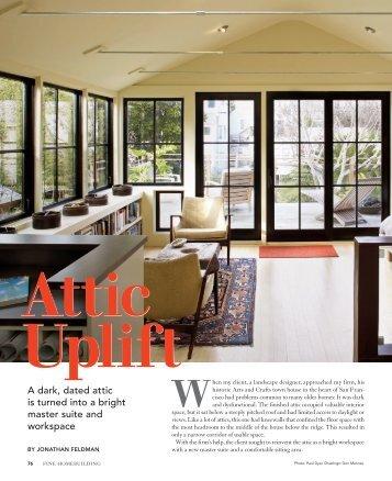 Attic Uplift - Fine Homebuilding