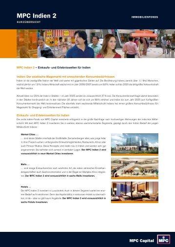 MPC Indien 2 - Finest Brokers GmbH