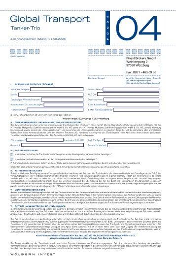 Global Transport - Finest Brokers GmbH