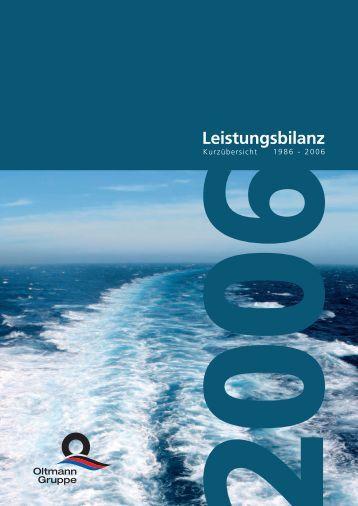 Leistungsbilanz 2006 - Finest Brokers GmbH