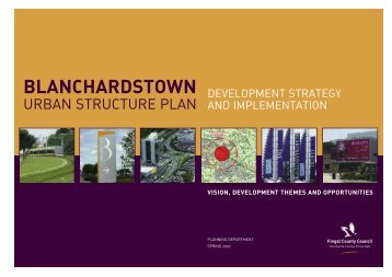 Blanchardstown Urban Structure Plan - Fingal County Council