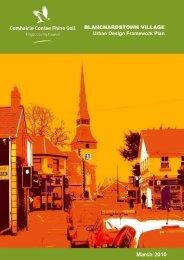 Blanchardstown Village Urban Design Framework Plan