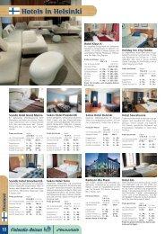 Hotels in Helsinki - Finlandia-Reisen