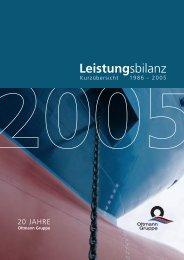 Leistungsbilanz 2005 - Finest Brokers GmbH