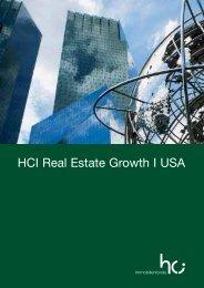 HCI Real Estate Growth I USA - Dima24