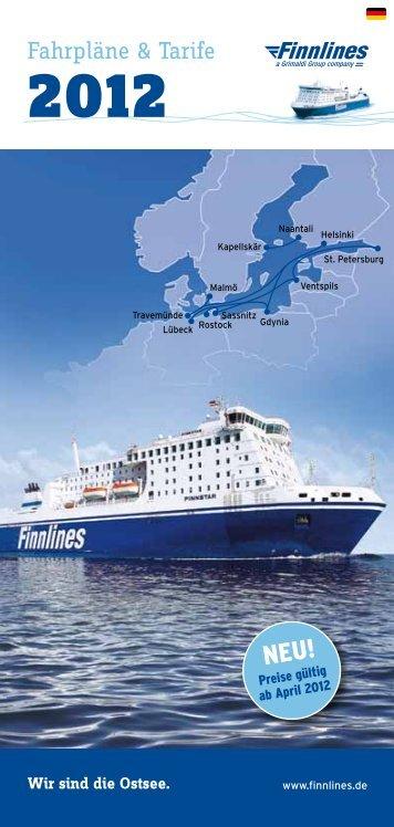 Fahrpläne & Tarife - Finnlines