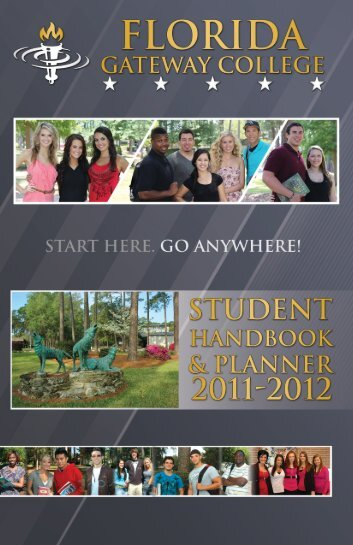 Student Handbook 2011-2012 1 - Florida Gateway College