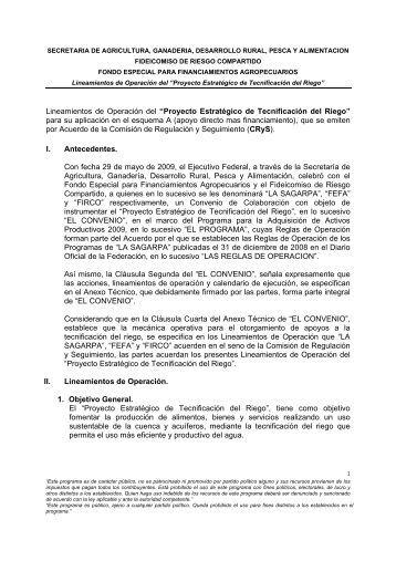 Proyecto Estratégico de Tecnificación del Riego - Firco