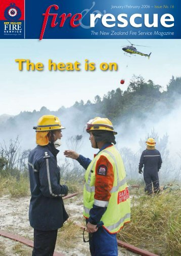 The heat is on - New Zealand Fire Service