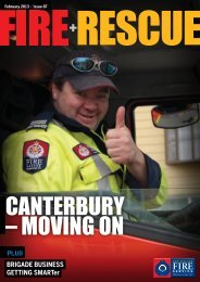 Read the full Issue here - New Zealand Fire Service