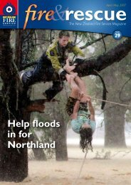 Help floods in for Northland - New Zealand Fire Service