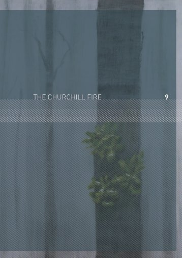 the Churchill fires - 2009 Victorian Bushfires Royal Commission