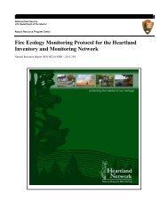Fire Ecology Monitoring Protocol for the Heartland Inventory and ...