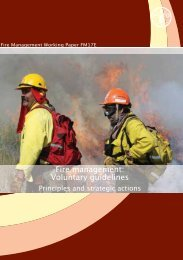 Fire management: Voluntary guidelines - The Global Fire Monitoring ...