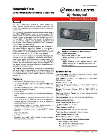InnovairFlex - Fire-Lite Alarms
