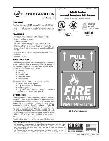 Firelite 9200udls manual