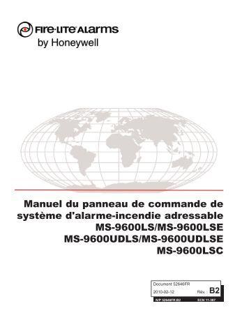 Firelite Ms 9600 programming manual