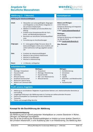 02 Kurzbeschrieb BM Abklärung 1-3 Monate - firma-web