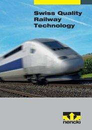Swiss Quality Railway Technology - firma-web