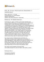 POL-BI: Erneut Wechseltrick-Diebstähle in Gadderbaum - Firmendb