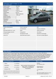 Volkswagen Golf V Edition 1 9 l TDI DPF 8.500 EUR