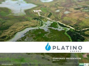 CORPORATE PRESENTATION January 2013 - FirstEnergy Capital ...
