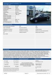 Volkswagen Passat Trendline Bluemotion Technology 1 4 l TSI 90 ...