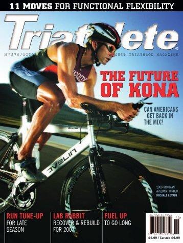 The future of kona - First Endurance
