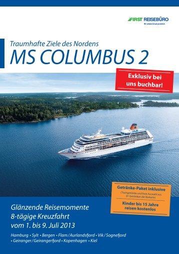 ms columbus 2 - Hapag-Lloyd
