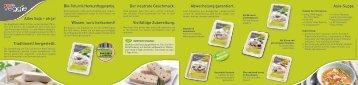 Alles Soja – oh ja! Traditionell hergestellt. Bio-Tofu mit - Spar