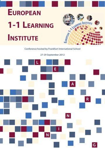 Download the Conference Schedule here. - Frankfurt International ...