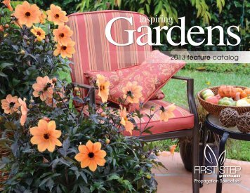 2013 Feature Catalog - First Step Greenhouses