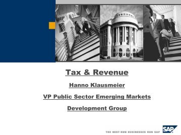 Tax & Revenue - Fiscal Reform