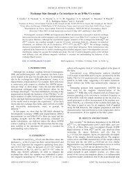 Exchange bias through a Cu interlayer in an IrMn/Co system
