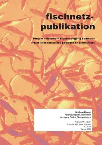 Synthese Ökotox - Fischnetz