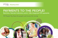 PAYMENTS TO THE PEOPLE! - FIS