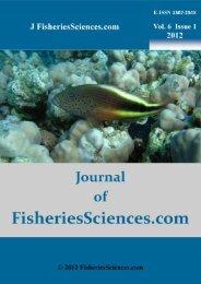 Journal of Fisheries S - FisheriesSciences.com