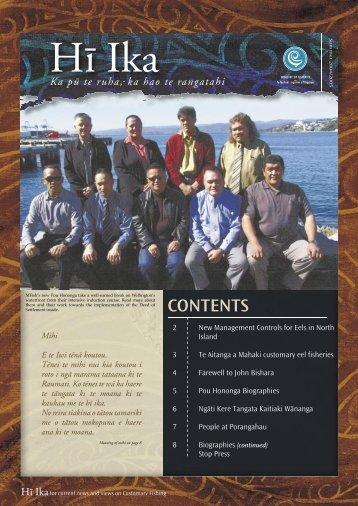 Hï Ika - Ministry of Fisheries