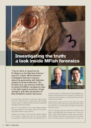 Investigating the truth - Ministry of Fisheries