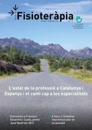 Noticiari 77 en format PDF - Col·legi de Fisioterapeutes de Catalunya