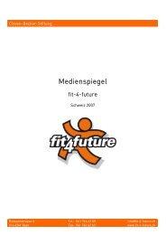 Medienspiegel 2007 - Fit-4-Future