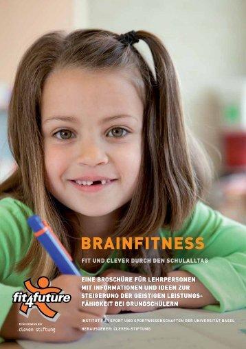 """Broschüre für Lehrpersonen: """"Brainfitness"""" - Fit-4-Future"""