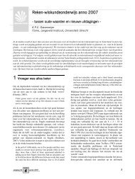 Reken-wiskundeonderwijs anno 2007 - Freudenthal Instituut ...